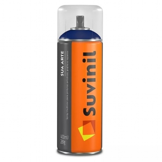 Spray Multiuso Preto Brilhante 400ml Suvinil