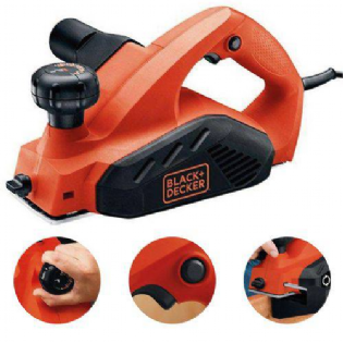 Plaina Eletrica 7698BR 6500W 82MM Black Decker 127V