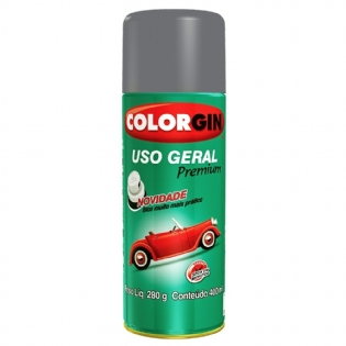 Spray Uso Geral Aluminio Rodas 55001 350ml Colorgin