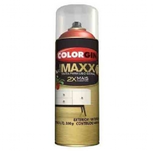 Spray Cover Maxx Uso Geral Preto Black Power 400ml Colorgin
