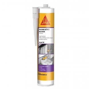 Silicone Acetico Transparente 265grs Sika