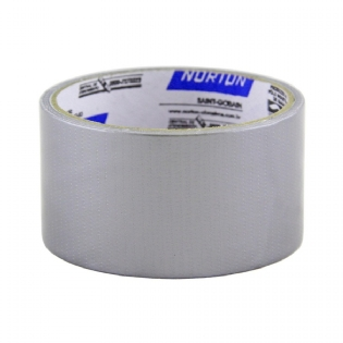 Fita Silver Tape 48mm x 5 mts Prata Norton